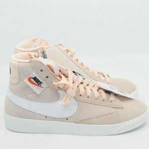 Nike Womens Blazer Mid Rebel Guava Ice Black White